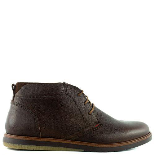 Men's brown low cut boot
