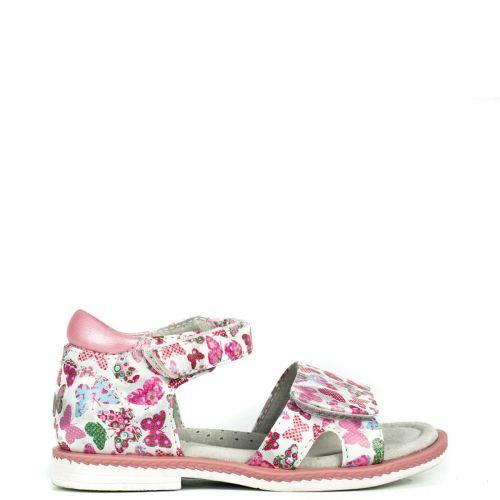 Kid's white sandal