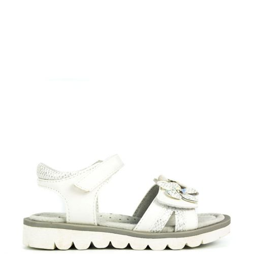 Kid's white sandal