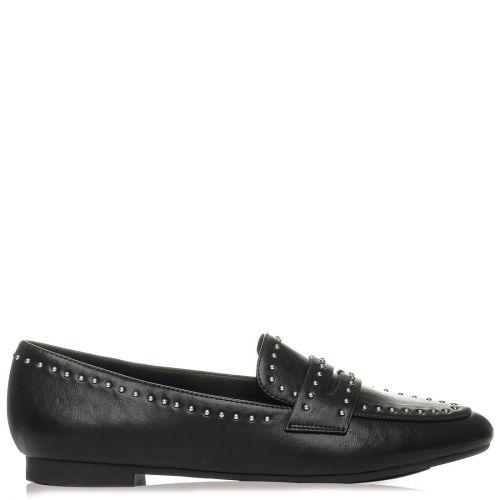 Μαύρο loafer με τρουκς