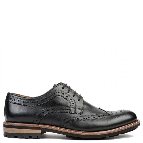 Men's black Oxford