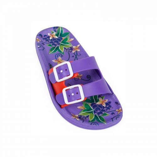 Kid's purple flip-flop