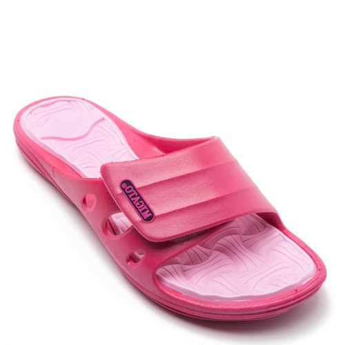 Women's fuchsia athletic slipper