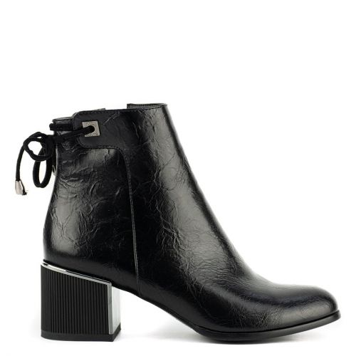 Black low cut bootie