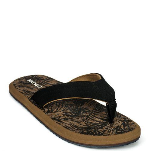Μen's black flip-flop