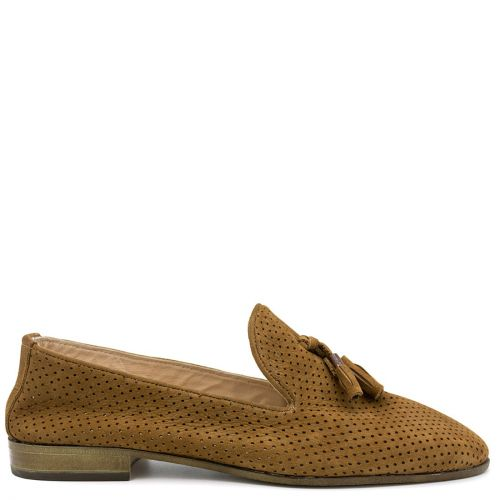 Ταμπά δερμάτινο loafer