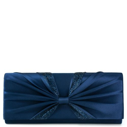Blue envelope with knot