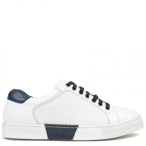 Men's white-blue sneaker