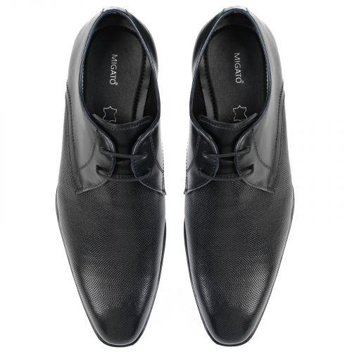 Men's black Oxford