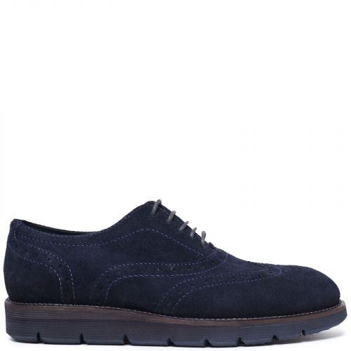 Men's blue Oxford
