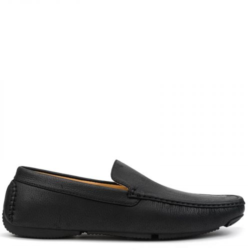 Men's black loafer