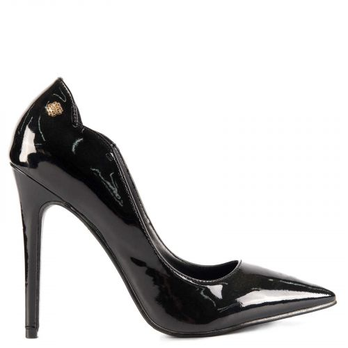 Pump in black patent