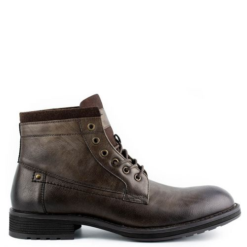 Men's brown low cut boot