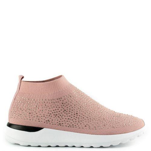 Ροζ slip-on sneaker