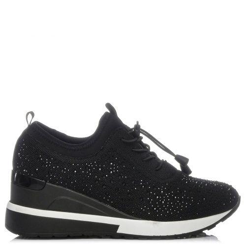 Black lycra sneaker