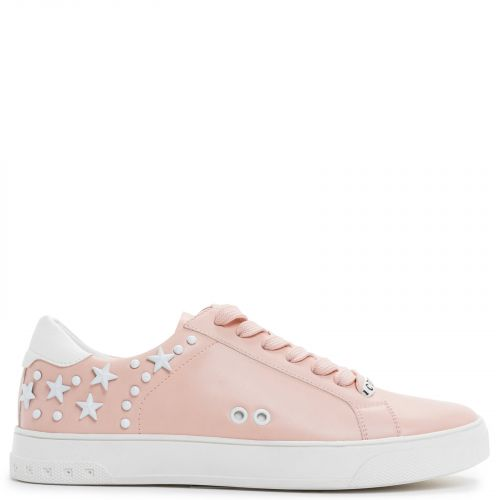 Pink sneaker with stars