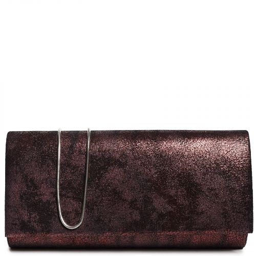 Burgundy metallic envelope