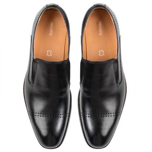 Μαύρο ανδρικό loafer