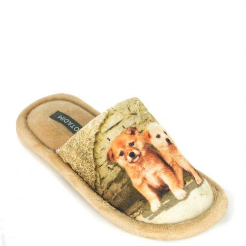 Beige slipper