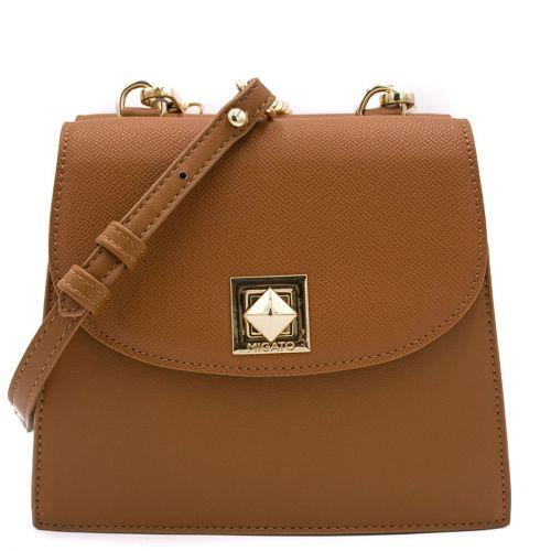 Ταμπά τσάντα με καπάκι
