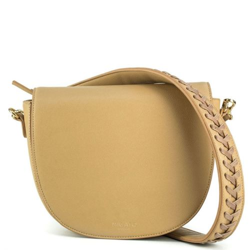 Beige handbag crossbody
