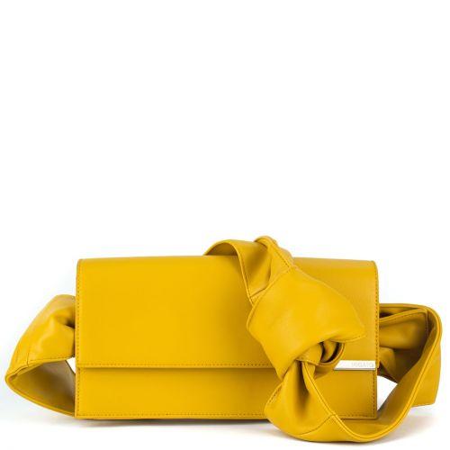 Κίτρινη τσάντα ώμου