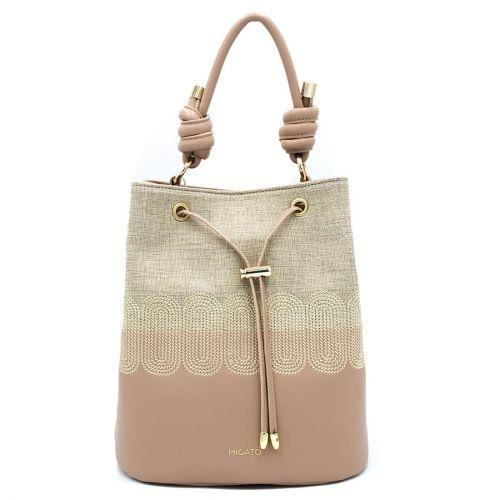 Nude τσάντα πουγκί