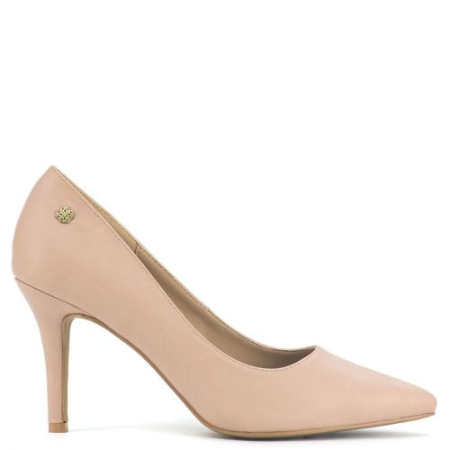 Nude pointy pump