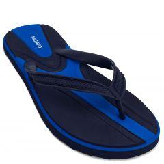 Men's blue flip-flop