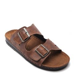 Men's tabacco beach sandal