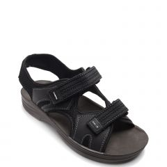 Men's black sandal