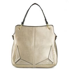 Gold hobo with studs