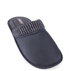 Blue men's slipper