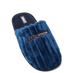 Blue men's slipper