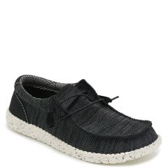Men's black casual sneaker
