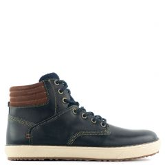 Men's blue sneaker boot