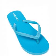 Women's turquoise beach slipper