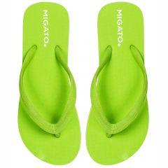 Women's green flip-flop