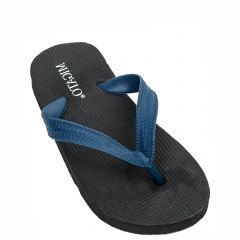 Kid's navy blue beach slipper with thong