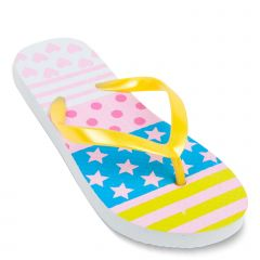 Kid's yellow flip-flop