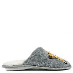 Kid's grey slipper with star
