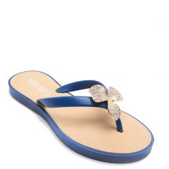 Women's royal blue flip-flop
