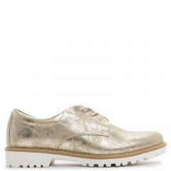 Gold Oxford with laces