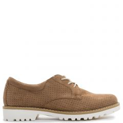 Camel Oxford with laces