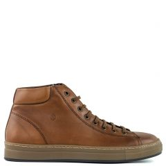 Men's tobacco leather boot