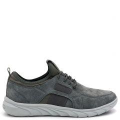 Ανδρικό γκρι καστόρινο sneaker