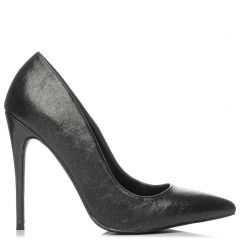 Black metallic pump
