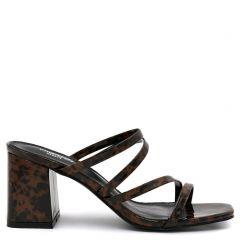 Brown marble sandal