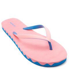 Women's pink flip flops