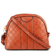 Orange mini crossbody bag